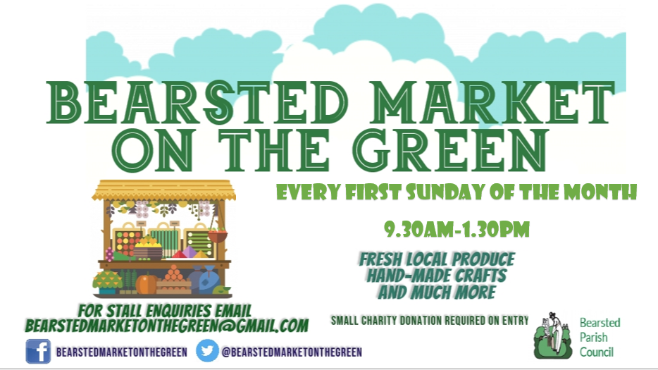 Bearsted Market on the Green first Sunday Monthly