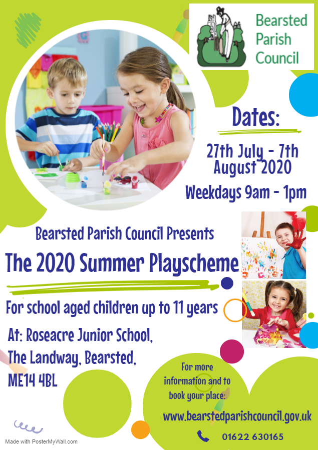 Bearsted Summer Playscheme 2020